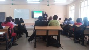 prof Ojo making presentation2, day2